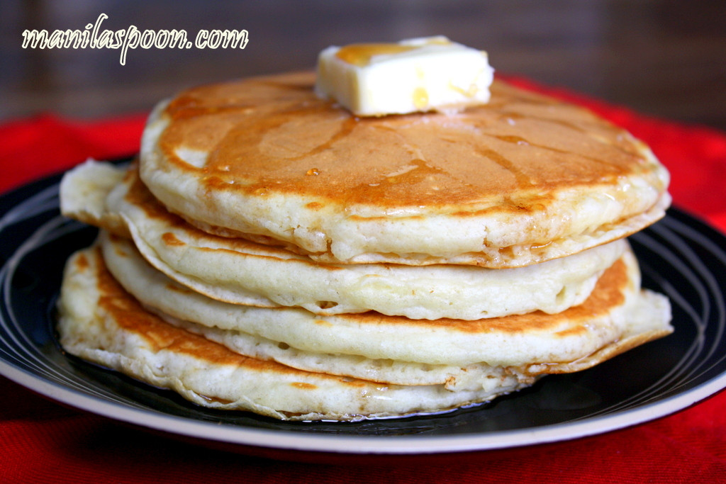 Easy Homemade Pancakes  Manila Spoon Easy Homemade Fluffy Pancakes