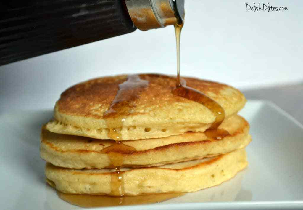 Easy Homemade Pancakes  Easy Homemade Pancakes