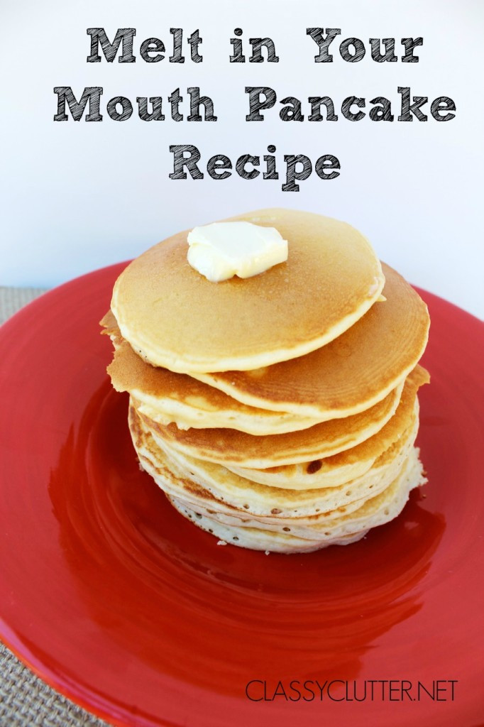 Easy Homemade Pancakes  Easy Pancake Recipe