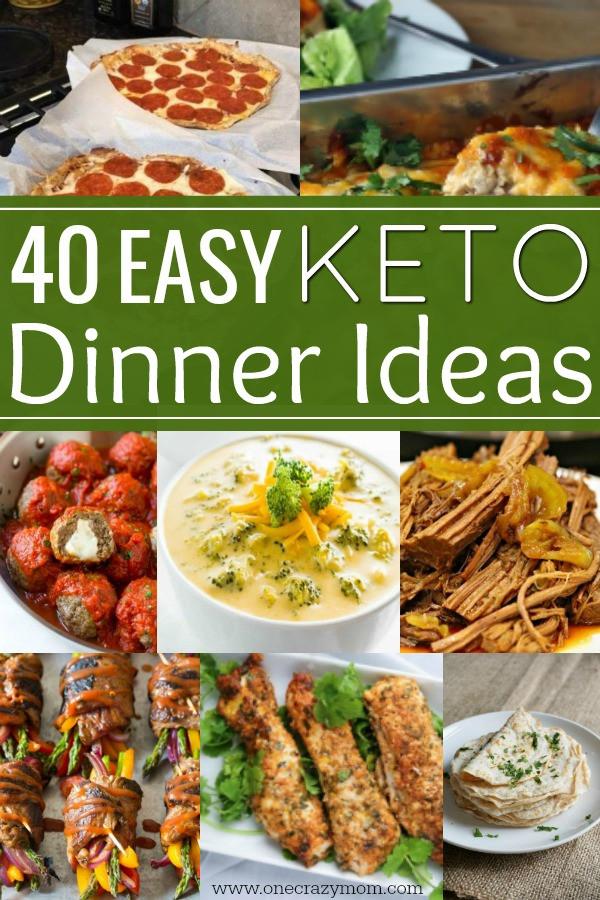Easy Ideas For Dinner  Easy Keto Dinner Ideas 40 Easy Keto Dinner Recipes