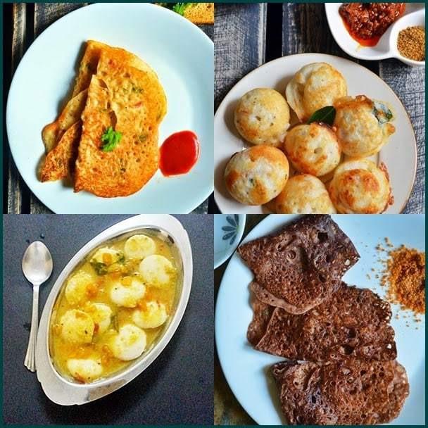 Easy Indian Breakfast Recipes  10 easy Indian breakfast recipes