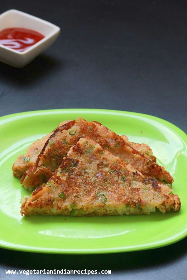 Easy Indian Breakfast Recipes  rava toast recipe