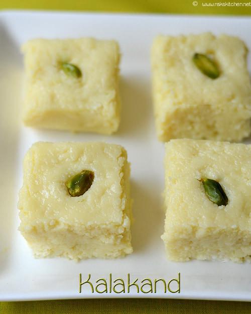 Easy Indian Dessert Recipes  Easy Kalakand recipe