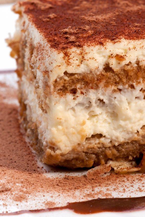 Easy Italian Dessert  Tiramisu Italian tiramisu and Dessert recipes on Pinterest
