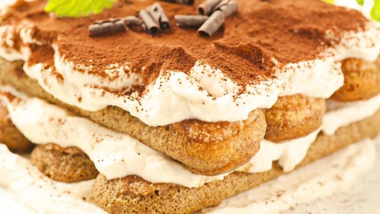 Easy Italian Dessert  Tiramisù the original recipe with ladyfingers and