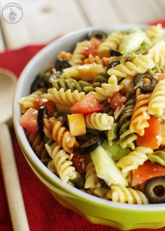 Easy Italian Pasta Salad  Easy Italian Pasta Salad