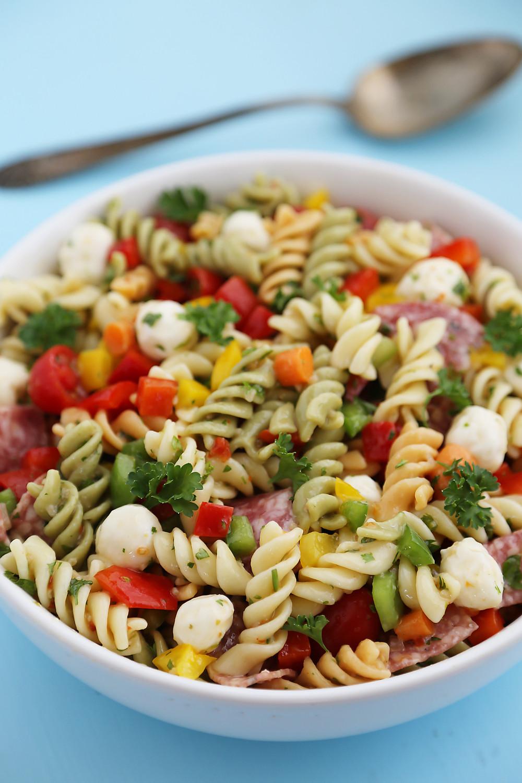 Easy Italian Pasta Salad  Italian Pasta Salad