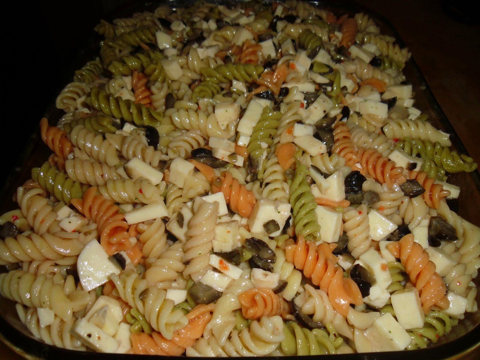 Easy Italian Pasta Salad  Easy Italian Pasta Salad Little Us