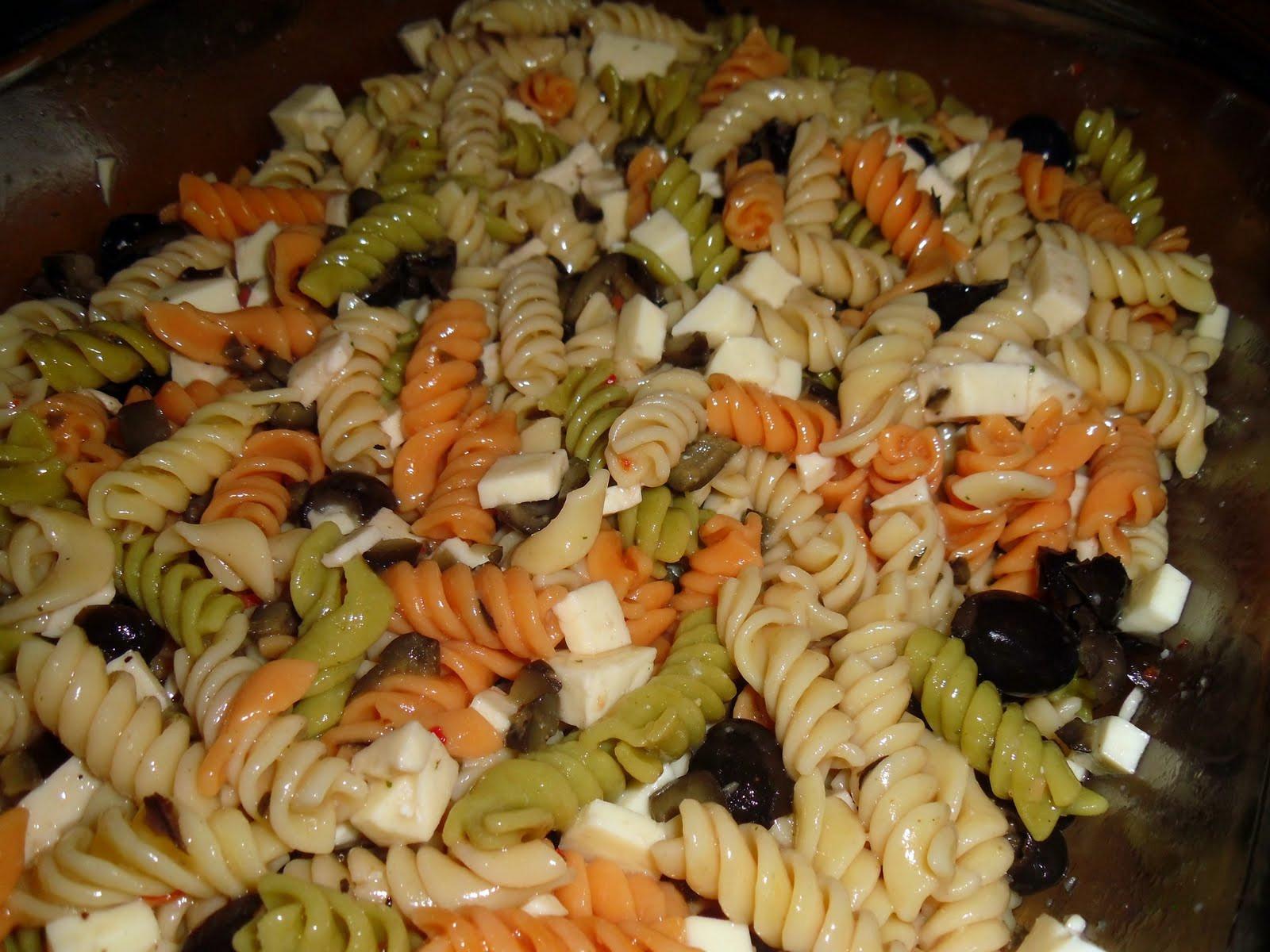 Easy Italian Pasta Salads  Easy Italian Pasta Salad Little Us