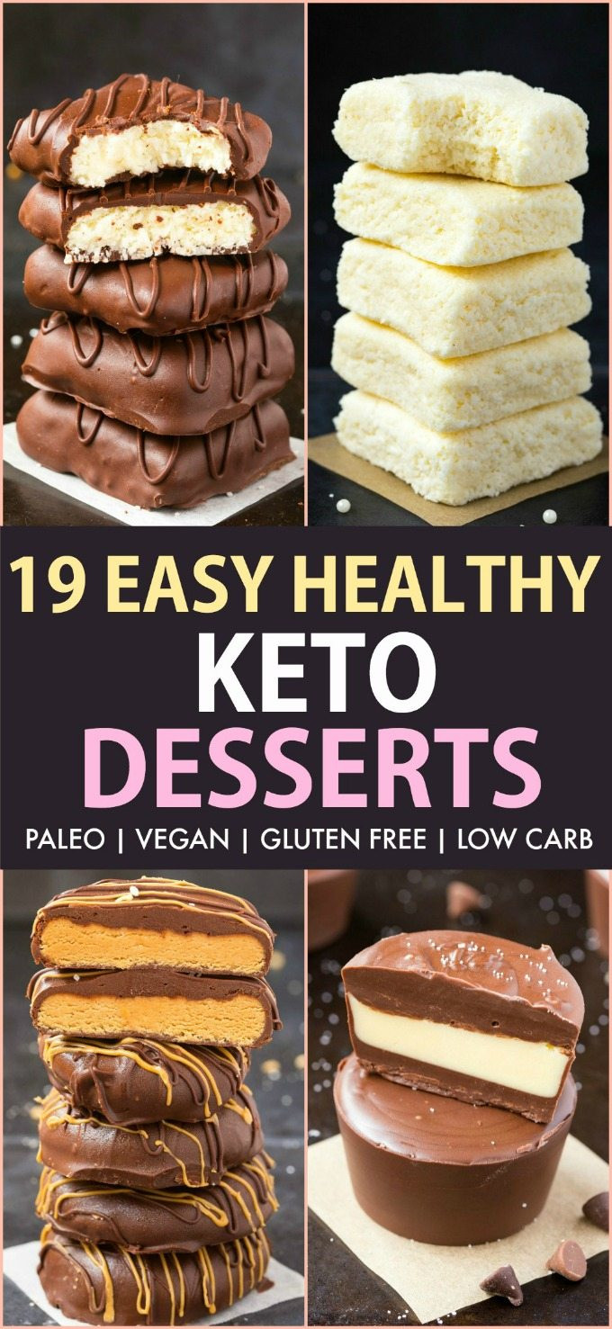 Easy Keto Dessert  19 Easy Keto Desserts Recipes which are actually healthy