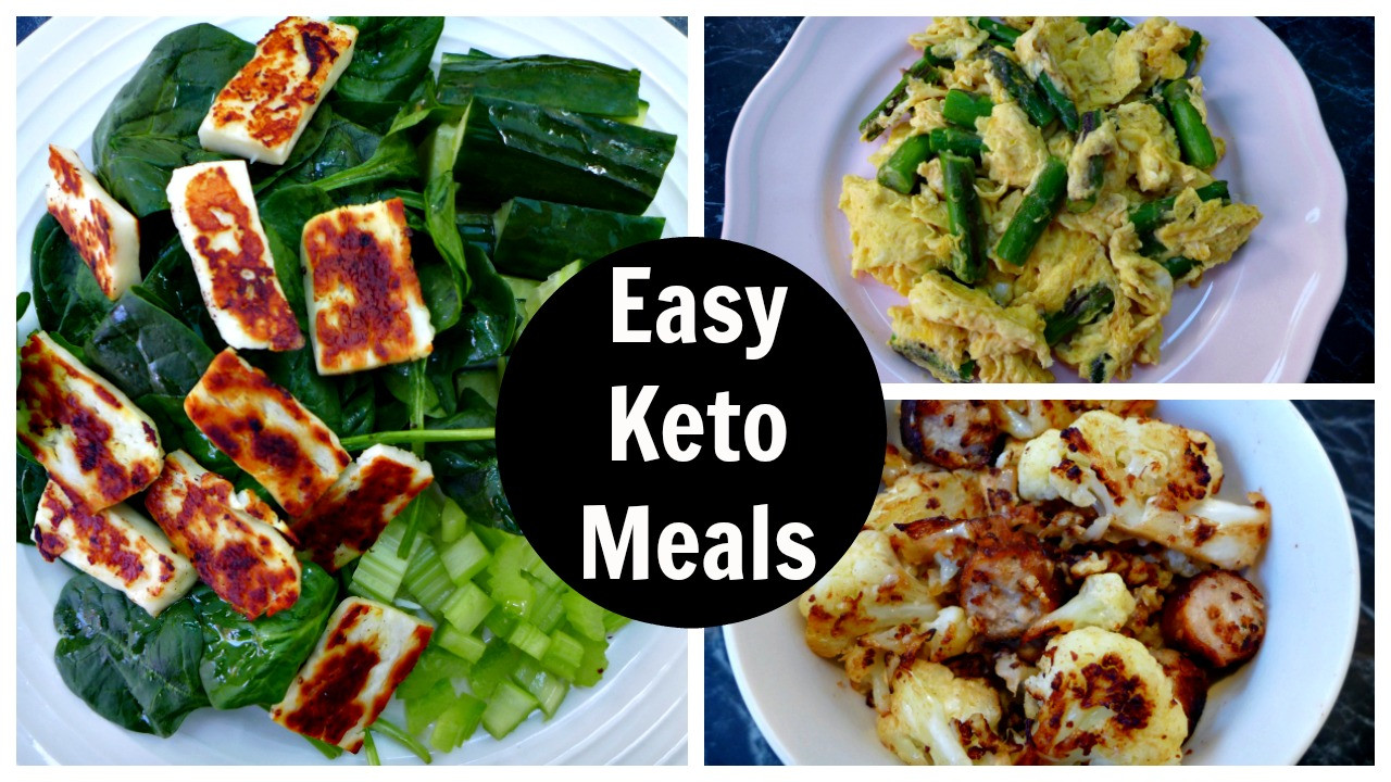 Easy Keto Dinner Recipes  Keto Diet Recipes Video