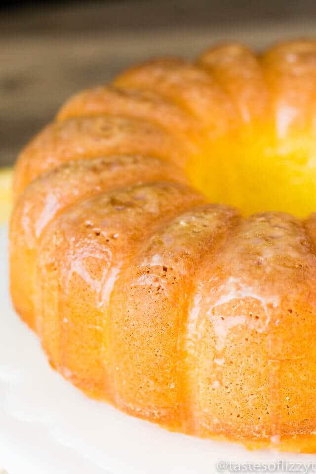 Easy Lemon Pound Cake  Lemon Pound Cake Recipe Easy Semi Homemade Pound Cake w
