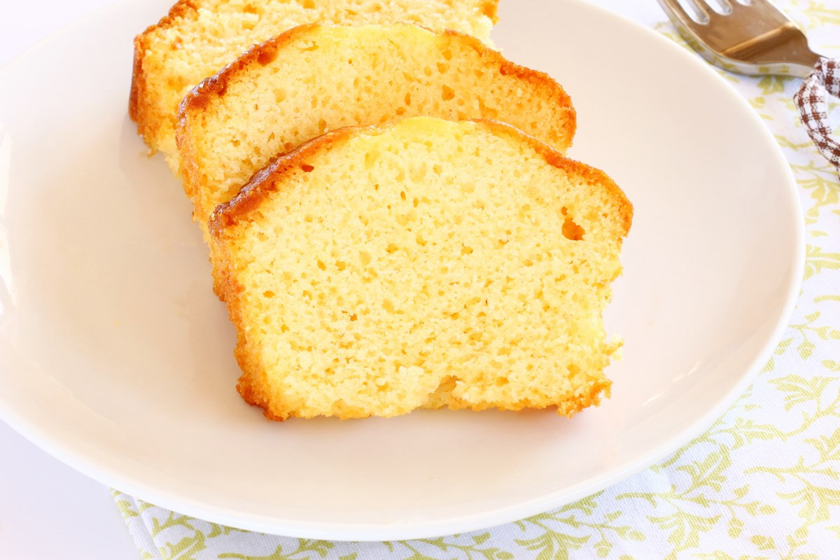 Easy Lemon Pound Cake  Easy Lemon Pound Cake KitchMe