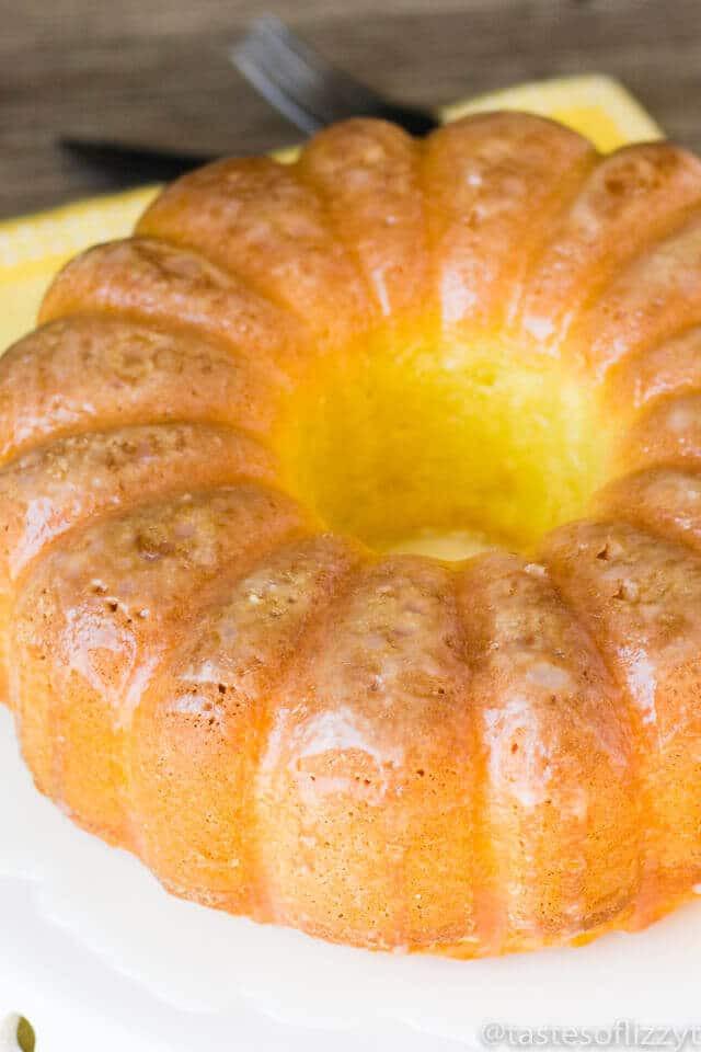 Easy Lemon Pound Cake  easy lemon pound cake with glaze