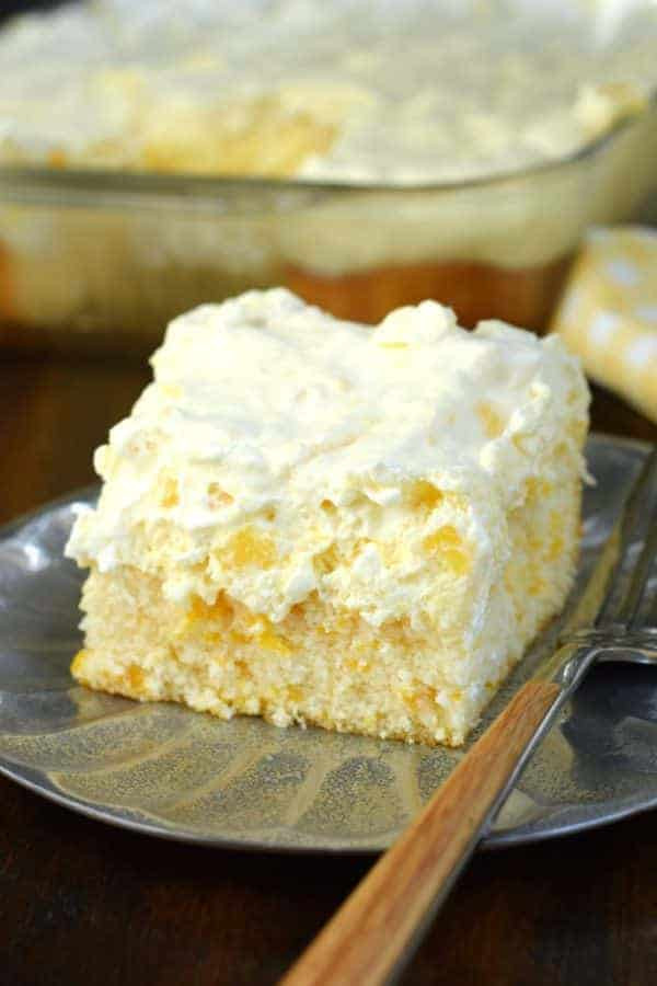 Easy Light Desserts  Pineapple Orange Cake Shugary Sweets
