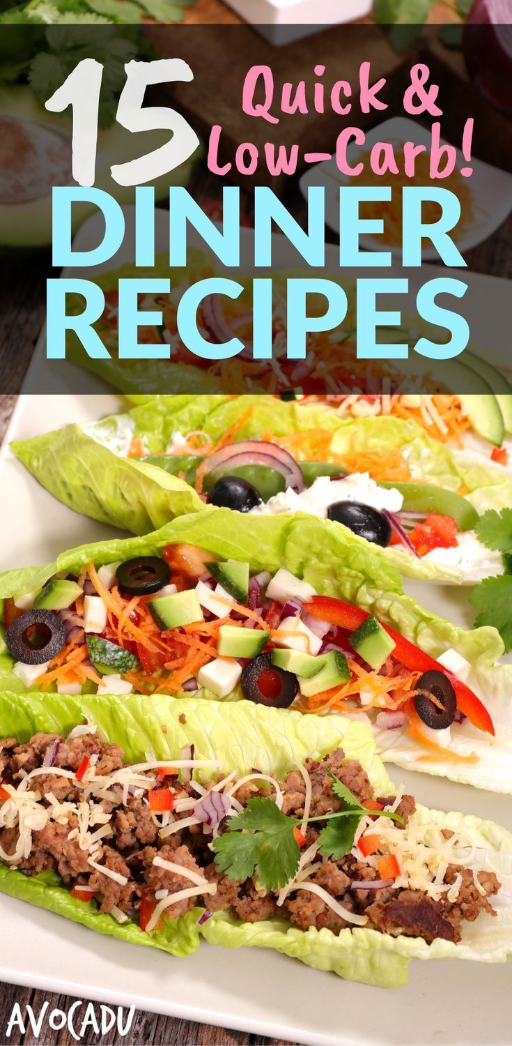 Easy Low Carb Dinners  993 best images about Weight Loss Recipes on Pinterest