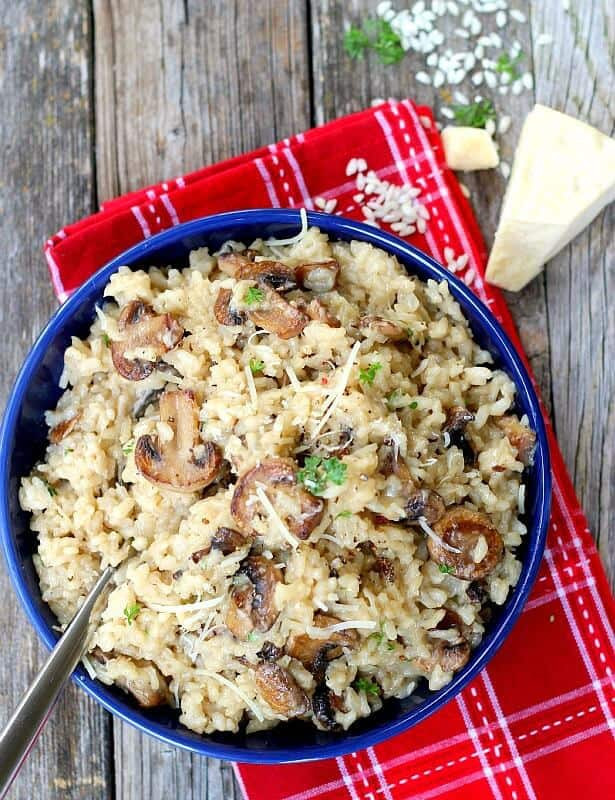 Easy Main Dishes  Perfect Mushroom Risotto with Risotto Tutorial – Good