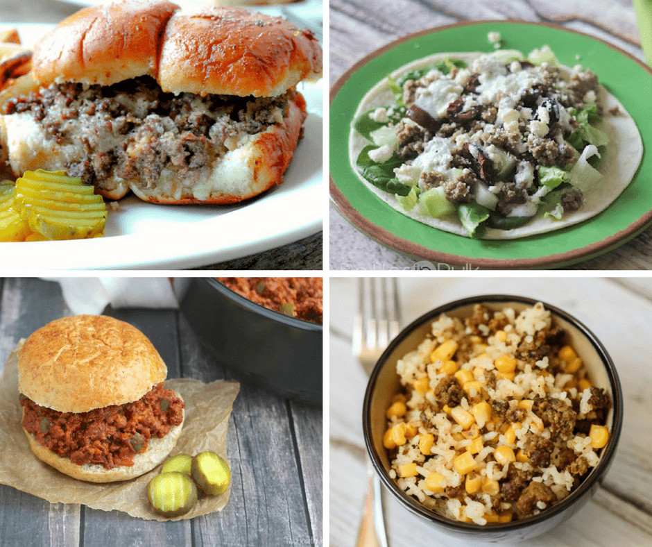 Easy Meals With Ground Beef  11 Easy Ground Beef Recipes for Meat Lovers My Stay At