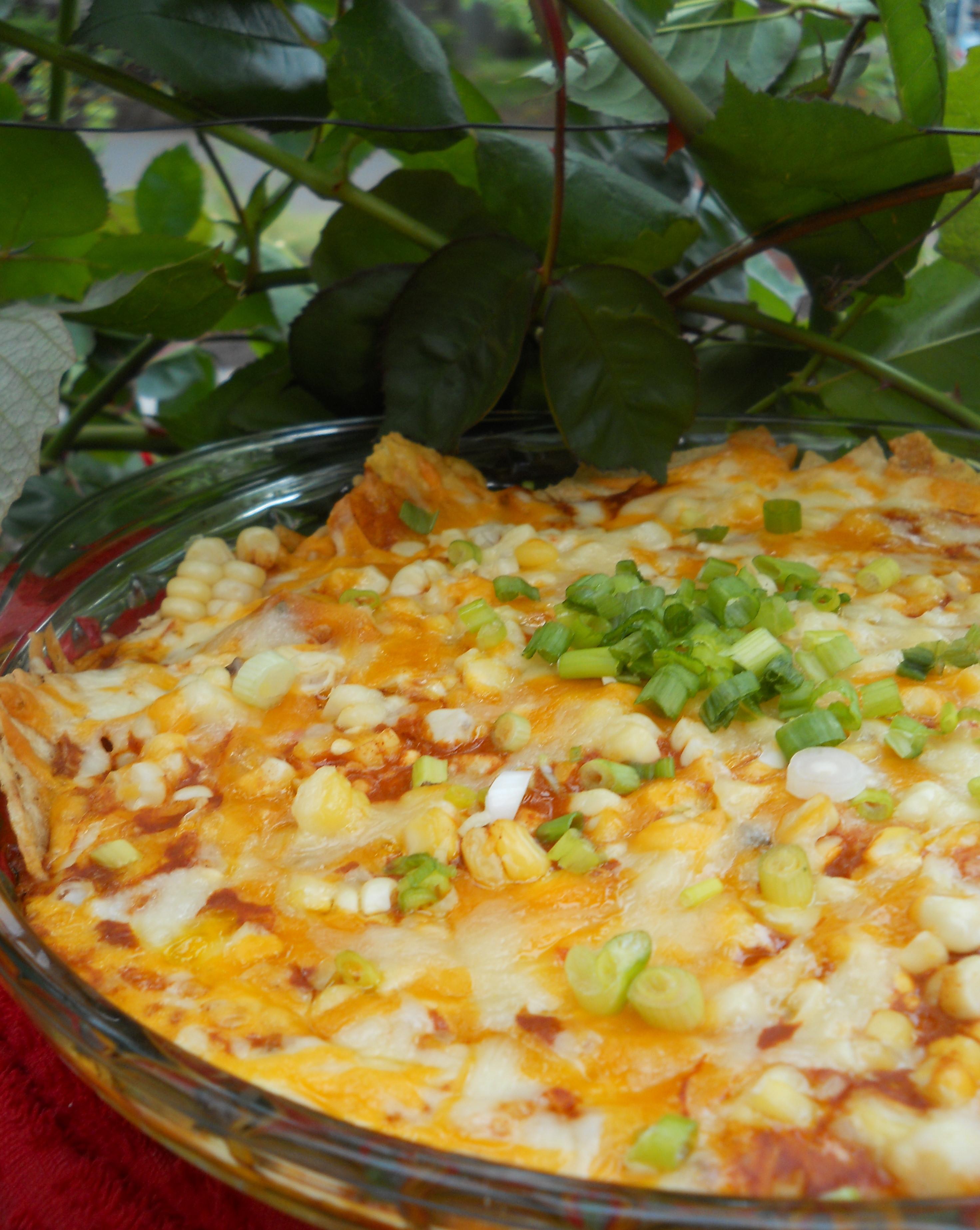 Easy Mexican Casserole  El Charro's Chilaquiles Easy Mexican Casserole for