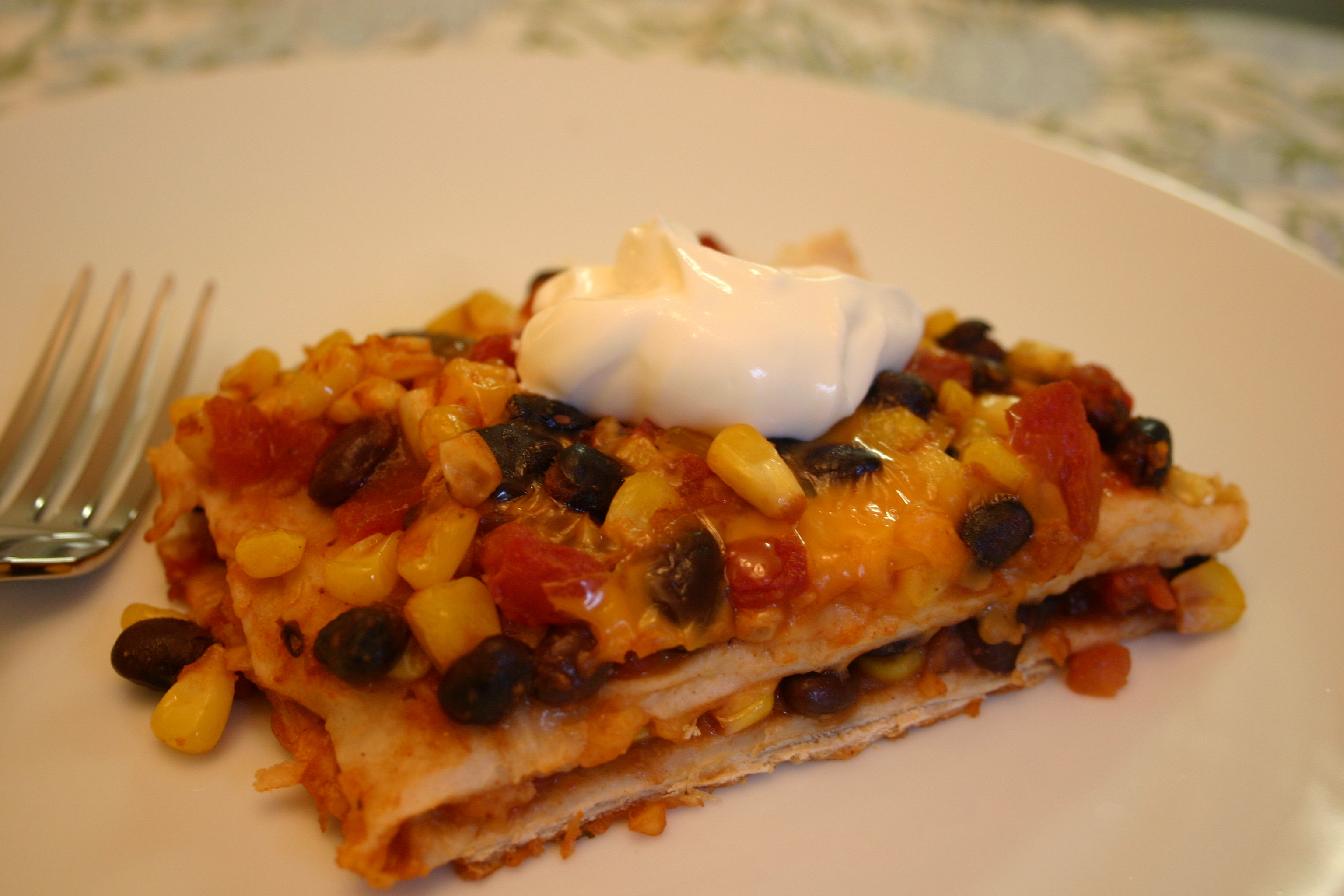 Easy Mexican Casserole  Easy Mexican Casserole Across the Kitchen Table