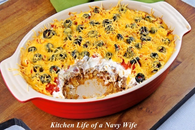 Easy Mexican Casserole  Stupidly Easy Mexican Casserole
