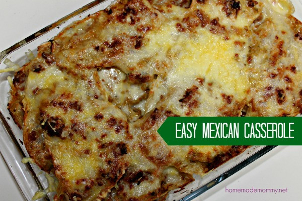 Easy Mexican Casserole  Recipes for Kids In Urdu for Desserts for Dinner for