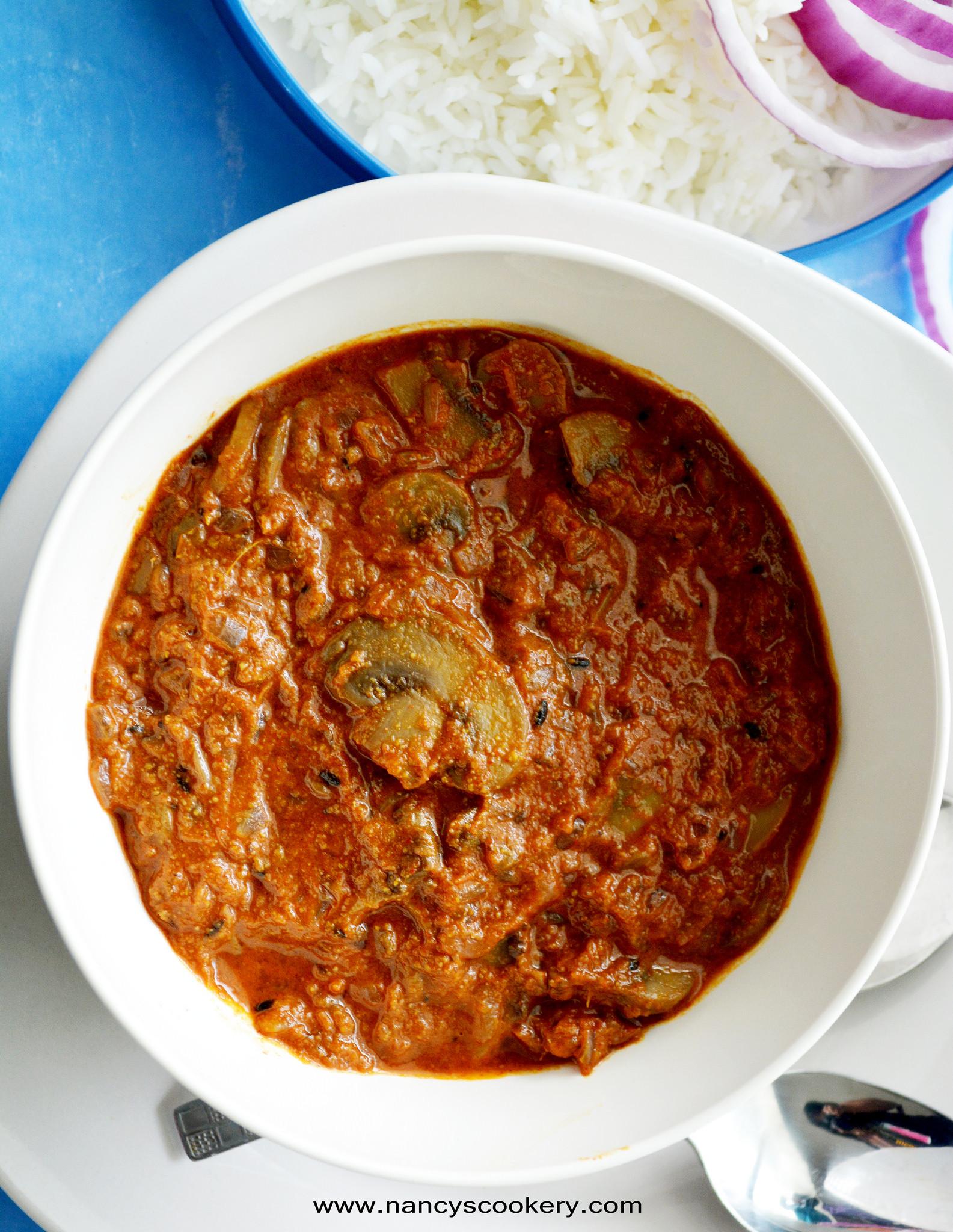 Easy Mushroom Gravy  Mushroom Gravy Recipe Indian style