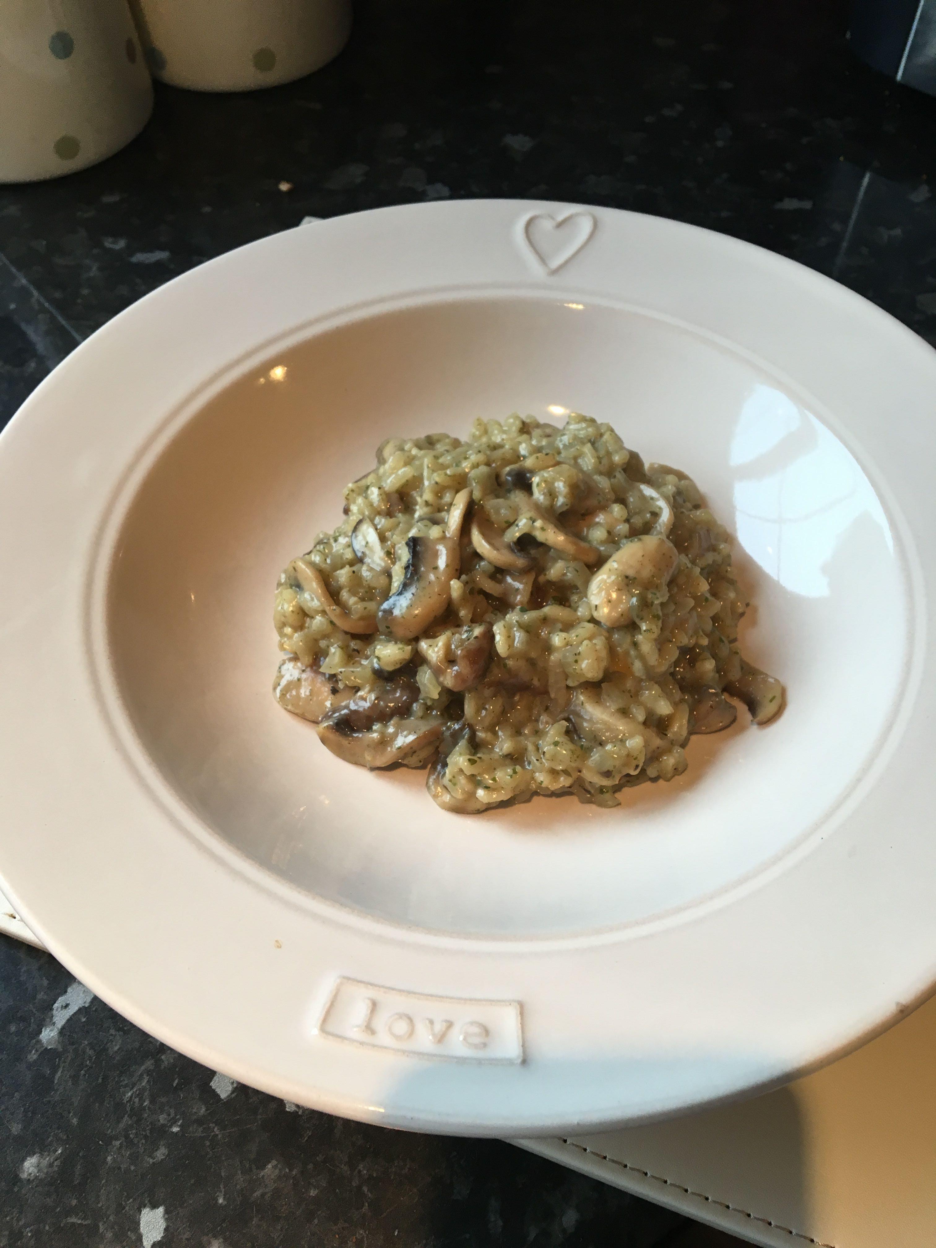 Easy Mushroom Risotto  Creamy easy mushroom risotto recipe All recipes UK