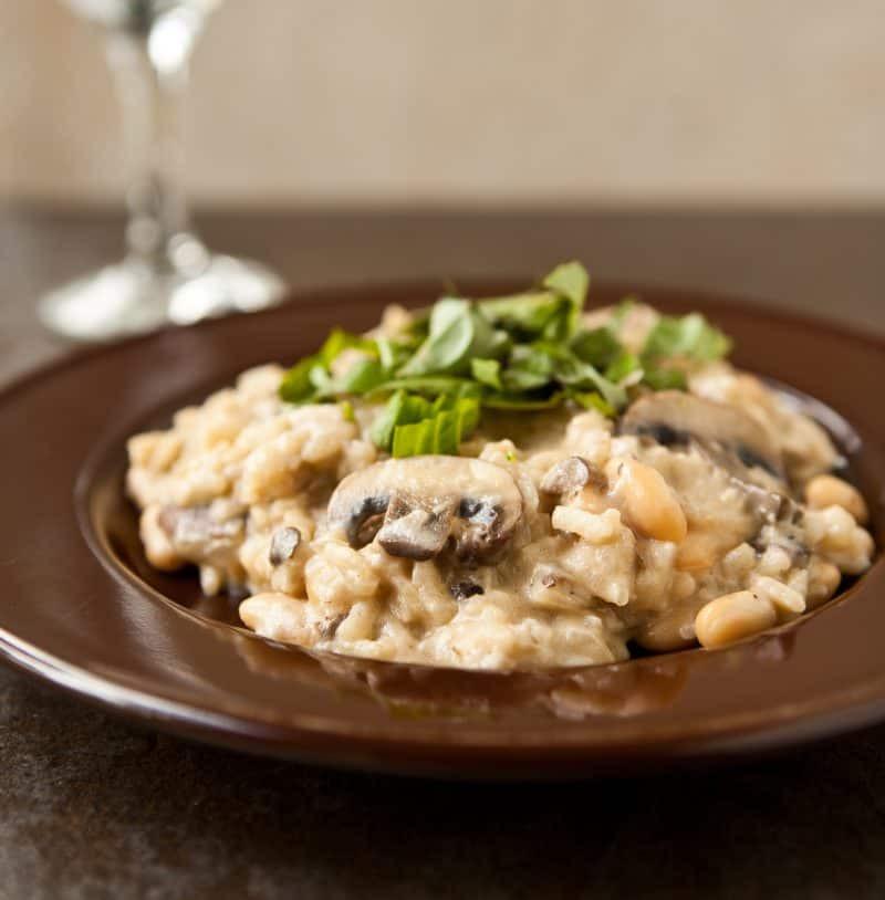 Easy Mushroom Risotto  risotto 3