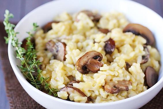 Easy Mushroom Risotto  Easy Mushroom Risotto Caroline Schoofs Ma vie en
