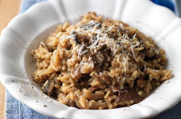 Easy Mushroom Risotto  Easy mushroom risotto recipe goodtoknow