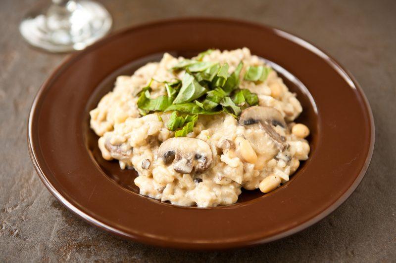 Easy Mushroom Risotto  risotto 1