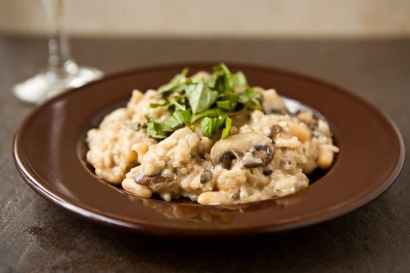 Easy Mushroom Risotto  risotto 2