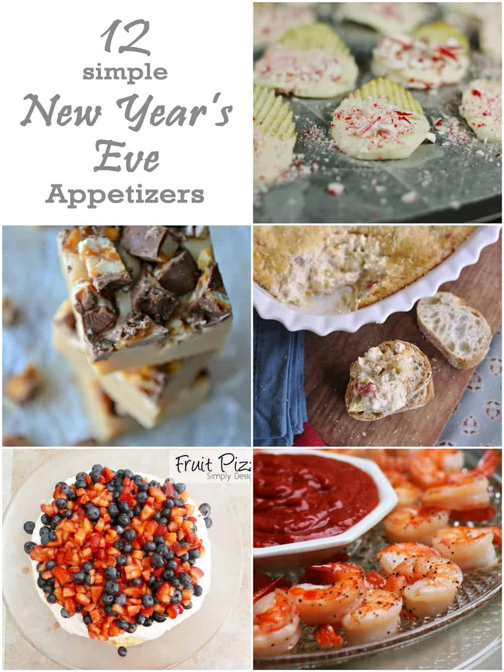 Easy New Years Appetizers  12 Simple Appetizers for New Year s Eve