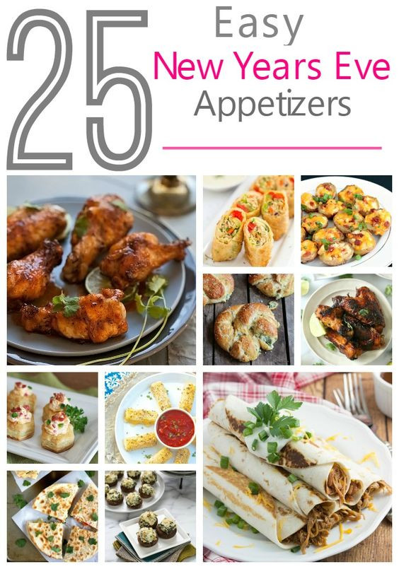 Easy New Years Appetizers  25 Easy Party Appetizers