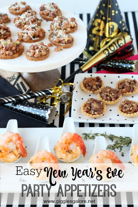 Easy New Years Appetizers  Easy New Year's Eve Party Appetizers