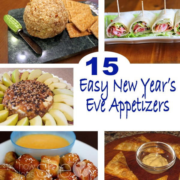 Easy New Years Appetizers  15 Easy New Year s Eve Appetizers