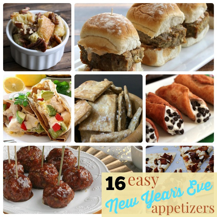 Easy New Years Appetizers  Great Ideas 16 Easy New Year s Eve Appetizers