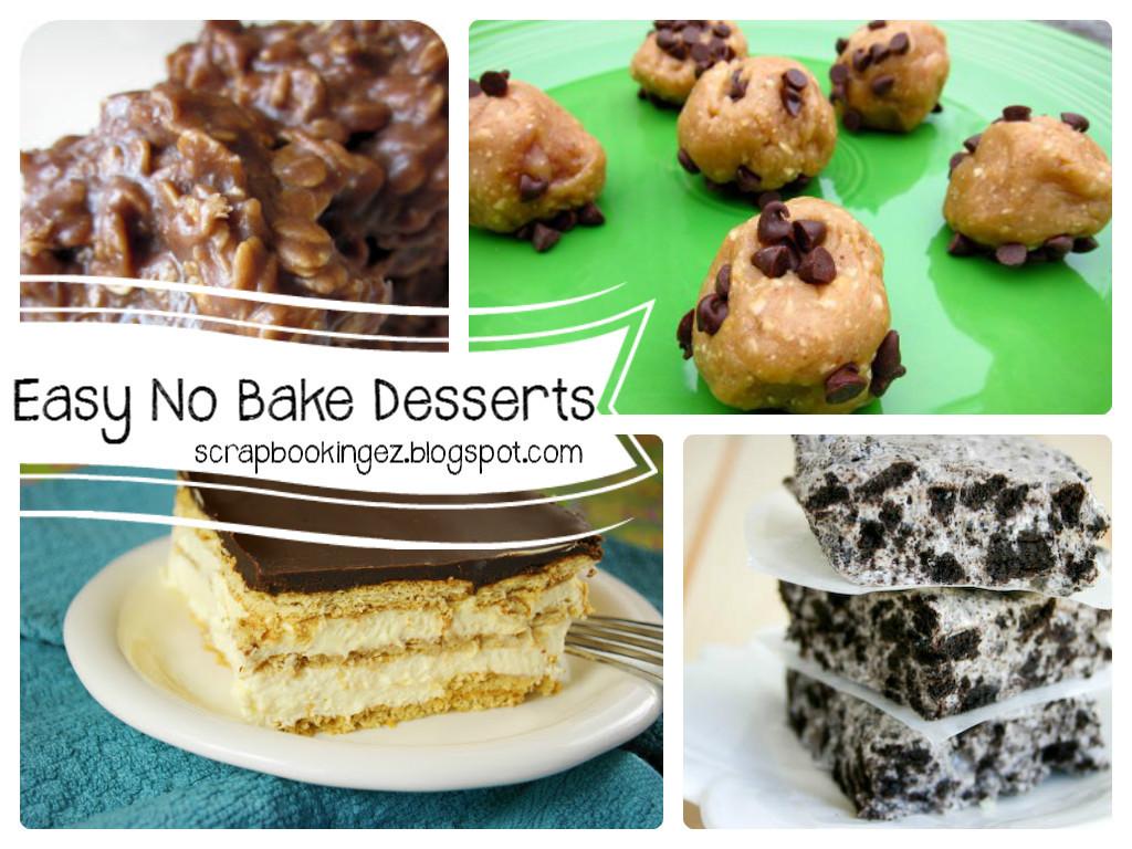 Easy No Bake Desserts  Digital Scrapbooking Made Easy Top Five Tuesdays Easy
