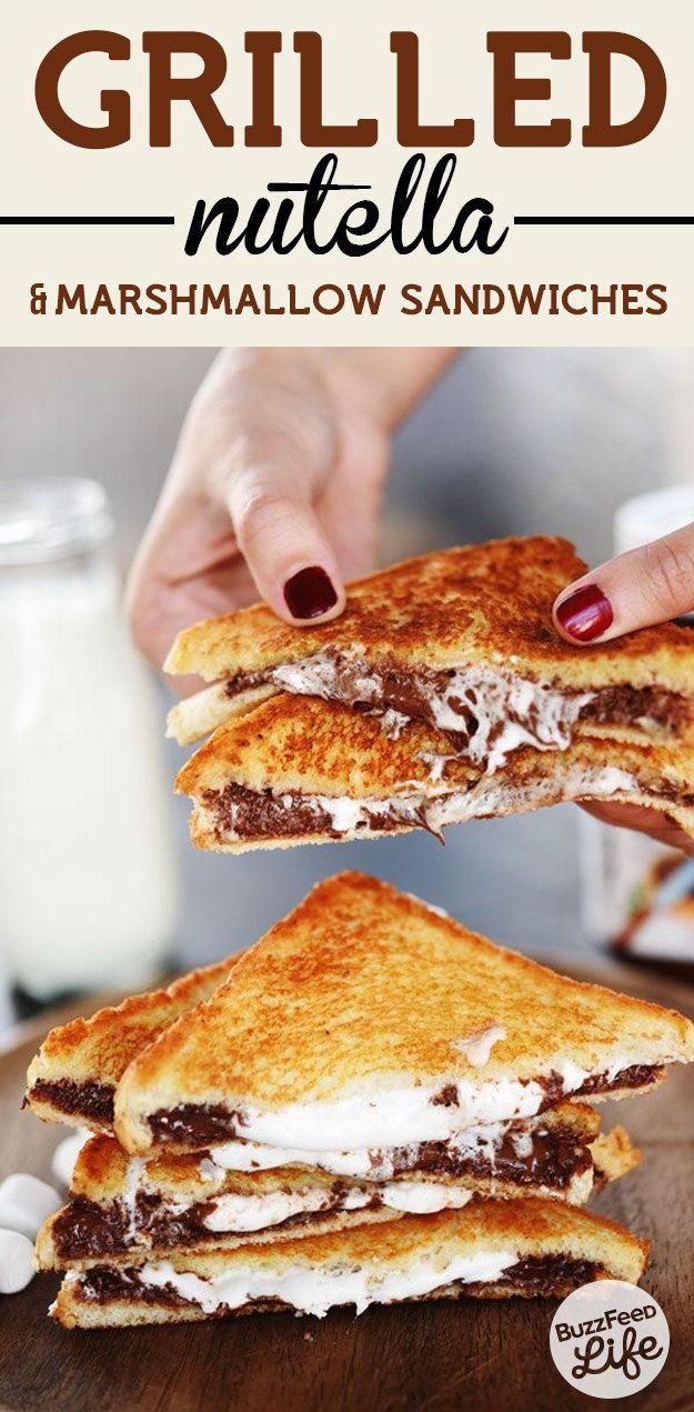 Easy Nutella Dessert  15 Recipes to Make Dessert Sandwiches Pretty Designs