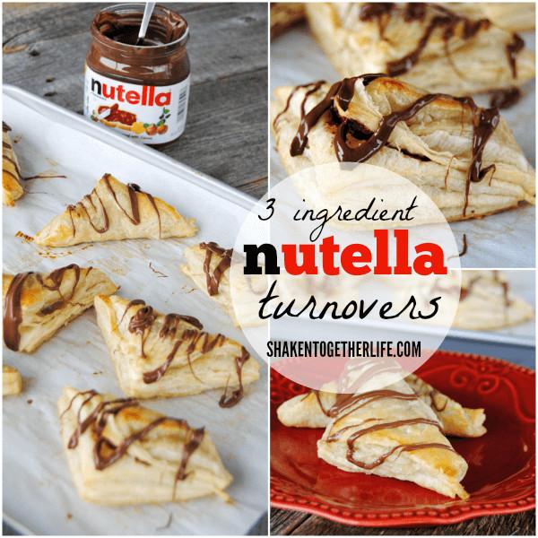 Easy Nutella Dessert  Nutella Turnovers & 4 More Easy Nutella Desserts