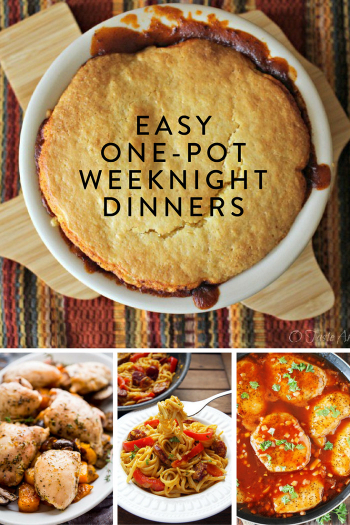 Easy One Pan Dinners  Easy e Pot Weeknight Dinners • The Inspired Home
