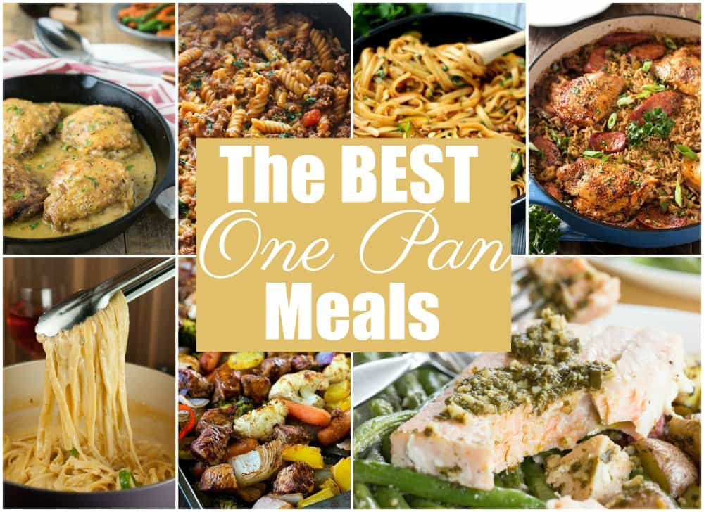 Easy One Pan Dinners  13 of The BEST e Pan Meals Yummy Healthy Easy