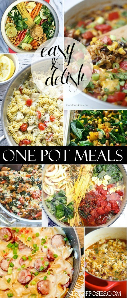 Easy One Pan Dinners  e Pot Skillet Meals