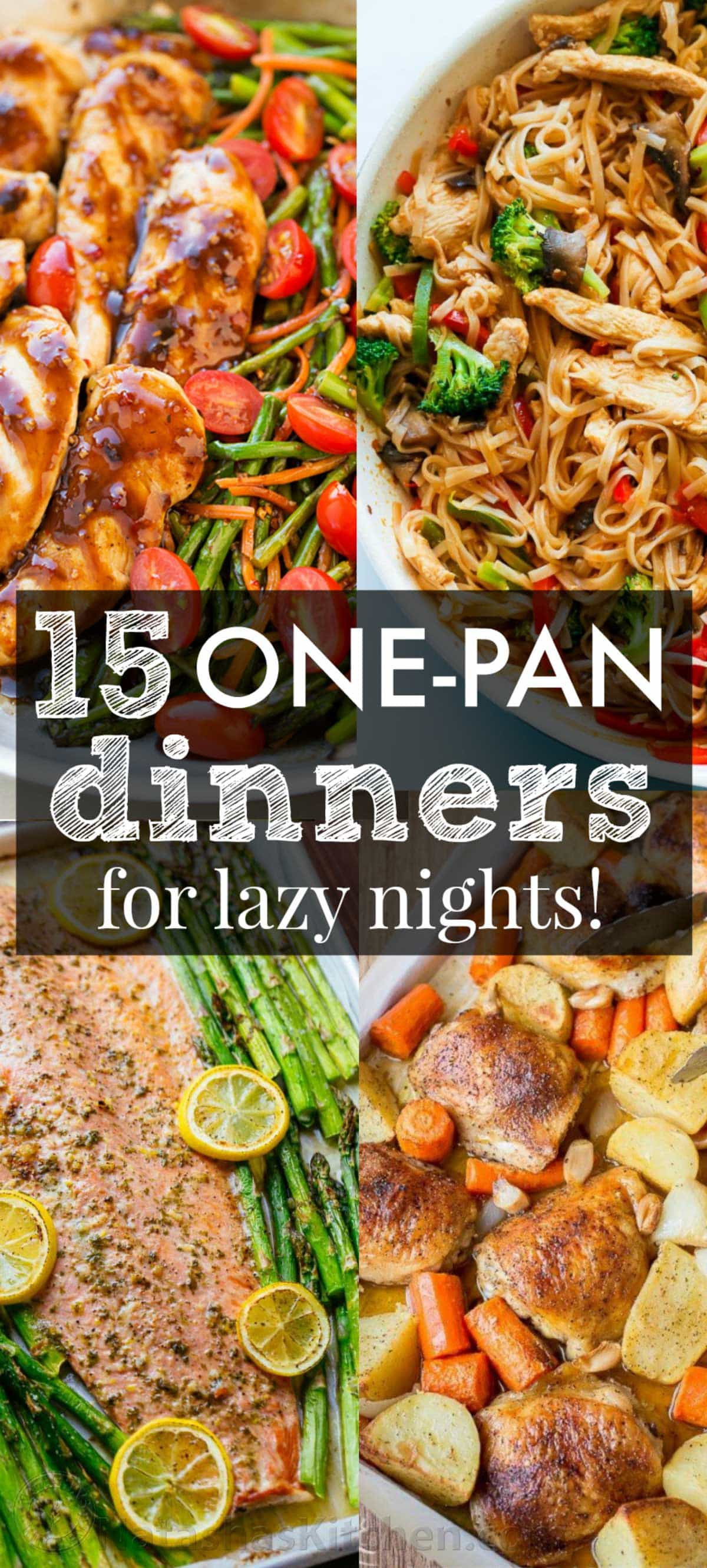 Easy One Pan Dinners  15 e Pan Recipes to Get You Excited for Dinner