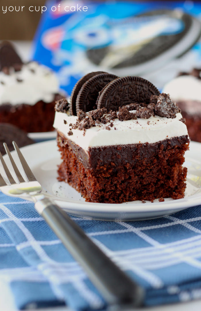 Easy Oreo Dessert  Easy Oreo Cake and Signed Cookbook Giveaway Your Cup of Cake