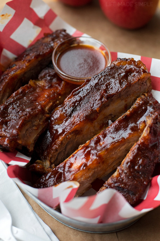 Easy Oven Baked Country Style Pork Ribs Recipe  Easy Oven Baked BBQ Ribs Life Made Simple