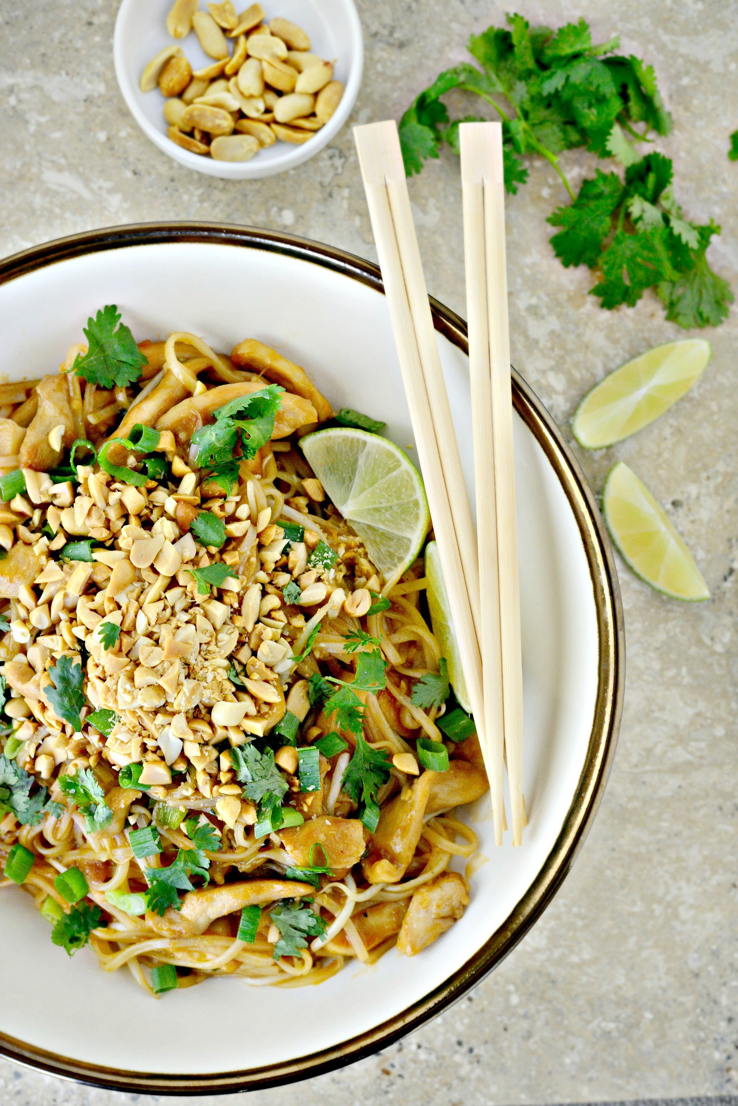 Easy Pad Thai  Simply Scratch Easy Chicken Pad Thai Simply Scratch