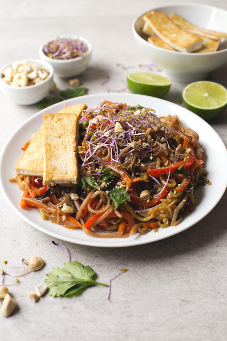 Easy Pad Thai  Vegan Pad Thai