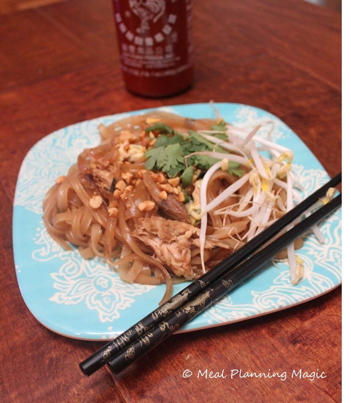 Easy Pad Thai  Easy Pad Thai Recipe Meal Planning Magic